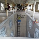 Cons Space 002 Berlin 3D streetart – Leon Keer
